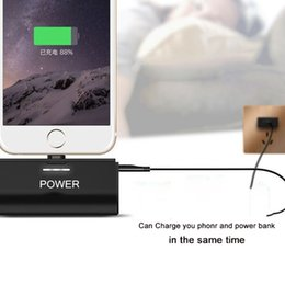 Wholesale External Lg - Wireless Mini Power Bank Portable Phone External Battery Charger 3000mAh for iphone X LG Aristo Samsung Retail Package