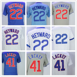 Wholesale discount baseball - Discount Big Wholesale Baseball Jerseys Chicago Jason Heyward John Lackey Jersey