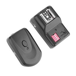sapatos quentes dslr Desconto Hot Shoe Flash Lamp Remoter 16 Canais Sem Fio Flash Trigger Transmissor Receptor Synchronizer para DSLR Camera