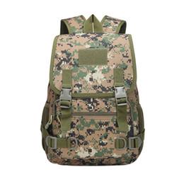 El paquete de entrenamiento de la escuela del ventilador del ejército al aire libre que acampa táctico de la mochila de camuflaje se divierte el bolso de escuela corriente desde fabricantes