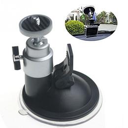 """Установленная видеокамера онлайн-Автомобильный авто гибкая лобовое стекло присоске держатель автомобиля окно монтируется стойку 1/4 """" штатив для камеры видео DVR GPS"""