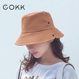 2019 cappelli neri panama COKK Cappello da donna Cappellino da donna  Cappellino estivo Cappellino da donna d27f90704975