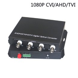 Wholesale Video Optical Converter - 1080P HD CVI AHD TVI 4 Channel Video Fiber Optical Media Converters - For CCTV