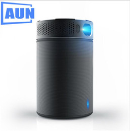 Wholesale Bluetooth Speake - AUN Portable Projector Q8 Set in Android 5.1 WIFI. 10900mAH Battery Power Bank for LED Projector, Use as Bluetooth Speake