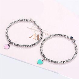 verão bracelete Desconto GS Amor Pulseira De Aço Inoxidável Pulseiras Para As Mulheres Senhoras 2018 Moda Feminina Pulseira Homme Do Noivado de Casamento Jóias G5