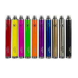 Ego c twist clearomizer en Ligne-Vision spinner 2 II 1600 mah C twist Vision2 Batterie E Cigs Cigarettes Electroniques eGo atomiseur Clearomizer Coloré DHL EC013