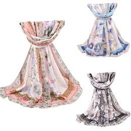 Атласная печатная шаль оптом онлайн-Large Hijab Scarf Women Fashion Paisley Scarfs Square Print Soft Satin Scarves Head Handkerchief Wholesale Shawl Wraps #8