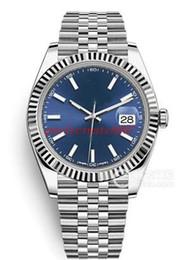 Canada Montres-bracelets de haute qualité pour hommes de la mode 126334 cadran bleu 41mm deux tons d'or Asie ETA mouvement en acier inoxydable automatique Mens Watch supplier asia gold Offre