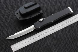 """Equipement de combat en Ligne-Haute qualité MIKER CNC couteaux halo VI couteau (4.5 """"Satin) unique D2 lame en alliage d'aluminium poignée tactique couteaux de survie couteaux outils EDC"""