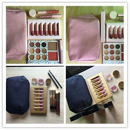 Wholesale Bags Bundle - Gift Box Golden Box  i want it all pink Makeup Bag Birthday Collection Cosmetics Birthday Bundle Bronze Holiday