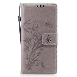 2019 casi di note4 Per iPhone Xs Max Xr 8 Plus 7 Huawei Mate 10 Xiaomi Redmi Note4 Custodia in rilievo a forma di fiore Portafoglio in pelle Flip Custodia in pelle sconti casi di note4