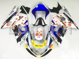 gsxr k1 verkleidungssatz Rabatt Nach Maß Motorrad Verkleidung Kit Fit für Suzuki GSXR GSX-R 600 750 GSXR600 GSXR750 2001 2002 2003 K1 ABS Verkleidungen Verkleidung-kit Einspritzung