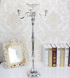 ciotola di fiore del candelabro d'oro Sconti Candelabro in metallo placcato oro da 83 cm, candelabro in metallo dorato con candelabri in oro puro