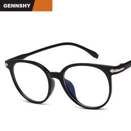 38be4b3bd9ea2 New Korean Eyeglasses Frame Unisex Light Plastic Retro Brand Optical Frame  With Arrow Aritistic Student Eyeglasses Clear Lenses