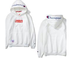 Wholesale Mens Hoodie Sweaters - Top Quality Championss Hooded sweater Plus cotton women and men Sport Outerwear Mens Hoodies Sweatshirt Skateboard hoodie