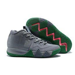 Wholesale Green Guardian - 2018 Newest 4 Shoes BHM All Star Tie Dye City Guardians Obsidian Fall Foliage PE Christmas Kyries Irving Basketball Shoes