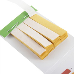 Ph kit de tiras reactivas litmus online-Al por mayor- 10pcs 80 tiras de 59 mm x 8 mm Full PH Meter Controller 1-14st indicador de papel de tornasol soaring kit de agua PH tiras de prueba 15 segundos
