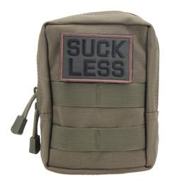 Canada 600D Nylon Sports Outdoor Utilitaire Militaire Sac de taille tactique EDC Molle Pouch Outil Zipper Taille Pack Sacs de chasse Nouveau Offre