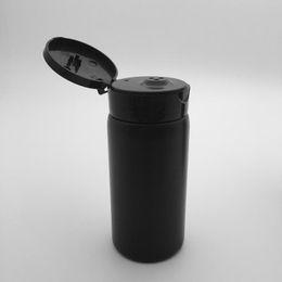 Peneira de garrafa de pó on-line-Preto / branco 80g talco garrafas de pó Sifter Frasco 80 ml portátil bebê talco amostras de garrafas vazias