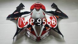 Wholesale custom r1 fairings - Custom Motorcycle Fairing kit for YAMAHA YZFR1 04 05 06 YZF R1 YZF1000 2004 2005 2006 Red white black Fairings set+gifts YB20