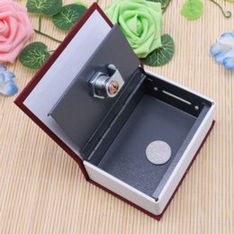Wholesale Lock Box Books - Home Security Dictionary Book Safe Cash Jewelry Storage Key Lock Box