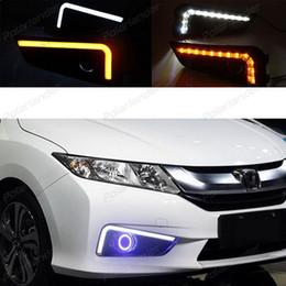 Wholesale Auto City - Car styling daytime running lights city H onda ci ty O utsea Or G RACE 2014 -2015 auto parts