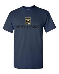 Peinture d'armée en Ligne-Impression de peinture pas cher T ShirtArmy Strong US Army Unisexe T-Shirt Cool Shirts100% coton Tee shirts sur mesure