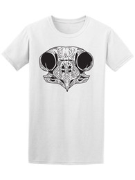 plus size promotion t shirts Promo Codes - Owl Skull Sketch Men's Tee -Image The new popular T shirt hot promotion Short Sleeve Plus Size discount hot new top free shipping t-shirt