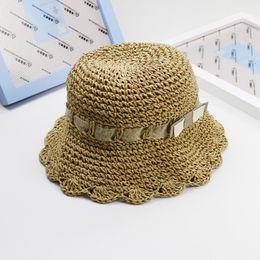 2019 sombreros de verano para niños Sombrero de paja tejida a mano de  primavera y verano e9ec7e06ed6