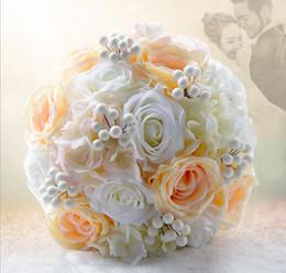 Wholesale foreign bride - Foreign trade export Tingting jade bride holding flower wedding supplies