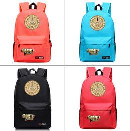 8874fc30df7f Аниме Гравити Фолс Билл Холст Рюкзак Модный рюкзак Дорожная сумка  Студенческая школьная сумка мужской ноутбук Рюкзак на молнии Рюкзак
