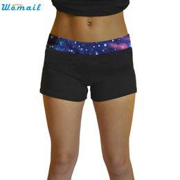 Wholesale Premium Pants - Premium 6 Colors Woman Girls Jogging Yoga Running Shorts Gifts Summer Women Sports Shorts Gym Workout Waistband Yoga Short Pants