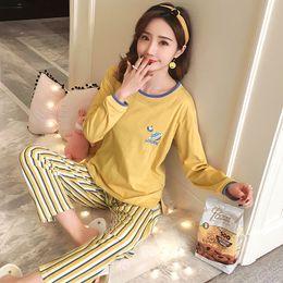 Plus Size 3XL 4XL 5XL Warm 100% Cotton Pajamas for Women Long Length Ladies  with Pocket Pyjama Set 80 Kg 90 Kg Wear Sleepwear 3c6b983b0