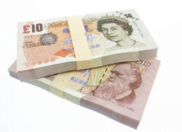 Wholesale Old Art Crafts - UK Pound GDP £5 10 20 50 Movie Props Money Bank Staff Training Collect Learning Banknotes New Arts Collectible Gifts Home Decoration Crafts