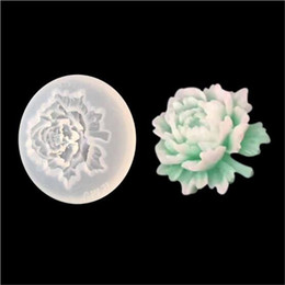 stampi di fiori di rosa Sconti 1pz 4.5x1.3cm Rose Flower Scrapbooking Stampo in silicone DIY Resina decorativa Craft Jewelry Making Mold stampo in resina epossidica