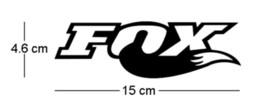 Гоночные стикеры логотипы онлайн-Fox Racing логотип мото окно бампер ноутбук холодильник стикер CA-189