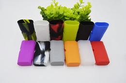 Кbox батареи онлайн-Subox мини силиконовые чехлы кремния кожи обложка сумка резиновый рукав защитные чехлы кожи для Kanger Kangertech Kbox мини 50 Вт коробка Mod батареи