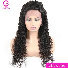 Wholesale long real human hair wigs - Curly Good Cheap Real Human Hair Lace Front Wigs 10 To 26 Inch Affordable Long Glueless Lace Front Wigs For African American Women