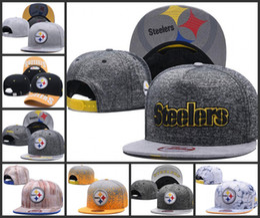 Wholesale baseball cap bowls - Hot Sale Men's Women's Basketball Snapback Baseball Snapbacks Pittsburgh Football Hats Mens Flat Caps Adjustable Sports mix order