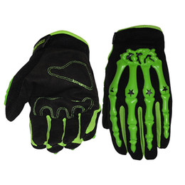 Wholesale Moto Skull - Motorcycle Gloves mtb Bike Gloves Racing Sport Ciclismo Outdoor Breathable Thick Shockproof Gants Moto skull