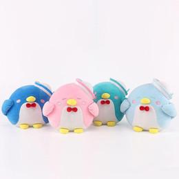 """Wholesale penguin for sale - Hot Sale 4pcs Lot 8"""" 20cm 4 Color Cute Penguin Plush Stuffed Animals Sam Penguins Doll Toy Gifts for kids"""