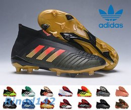 new concept b61aa 8df68 Adidas Predator Ace 18+ Soccer Cleats 2018 World Cup Telstar Firm Ground  Cleats Mens Football Boots Paul Pogba Football Shoes Zapatos soccer boots  world for ...