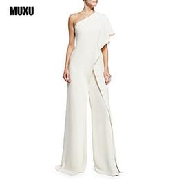 Белый белый комбинезон онлайн-MUXU Body Feminino Romper сексуальный комбинезон комбинезон Femme ползунки женщины белый комбинезон женские комбинезоны комбинезон плюс размер