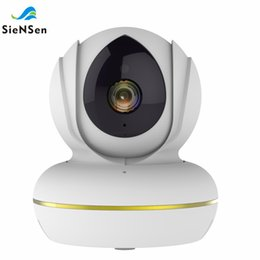 power support hd Promo Codes - SienSen 1080P HD Wireless Indoor Hemisphere PTZ Camera P2P Technology,Support ONIVF USB Power Connector Analog Camera C22S