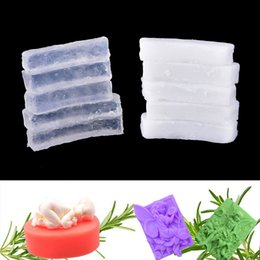 Мыльные материалы онлайн-New 250g Transparent Soap white Base DIY Handmade Raw Materials Base for Soap Making Health Care