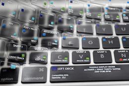 2019 macbook pro 15 HRH Serato DJ Atalho Tecla de Atalho Funcional TPU Backlight Teclado Cobertura Protetor Da Pele Para O Velho Macbook Pro 15 17 EUA desconto macbook pro 15
