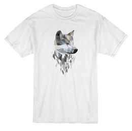 Deutschland Wolf Vector Image Design Männer T-Shirt Printed New Style 100% Baumwolle Kurzarm T-Shirt Funny Print Top-Tee Versorgung