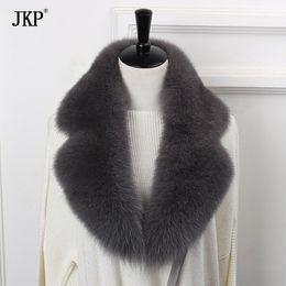 натуральные шарфы Скидка 2017 New Natural  Fur Collar Scarf 90cm Winter Women Genuine  Fur Collar Warm Scarves
