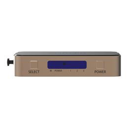 hdmi vga splitter Promotion Commutation HDMI 3 entrées 1 sortie Commutateur HDMI Répartiteur 3 ports pour PS3 PS4 Xbox 360 PC DV HDTV 1080P 3 entrées vers 1 sortie
