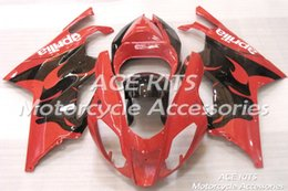 fairing rsv Promo Codes - ACE Motorcycle Fairings For Aprilia RSV 1000 2004 2005 Compression or Injection Bodywork A variety of color No.692